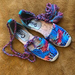 CIRCUS by SAM EDELMAN Printed d'Orsay Flats
